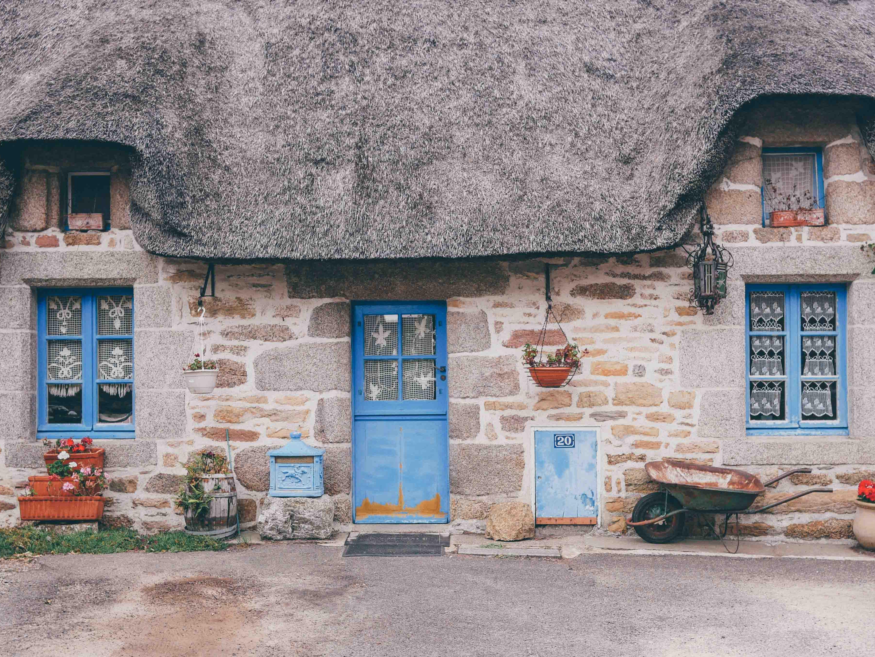 Kerascoët et Kercanic - Bretagne