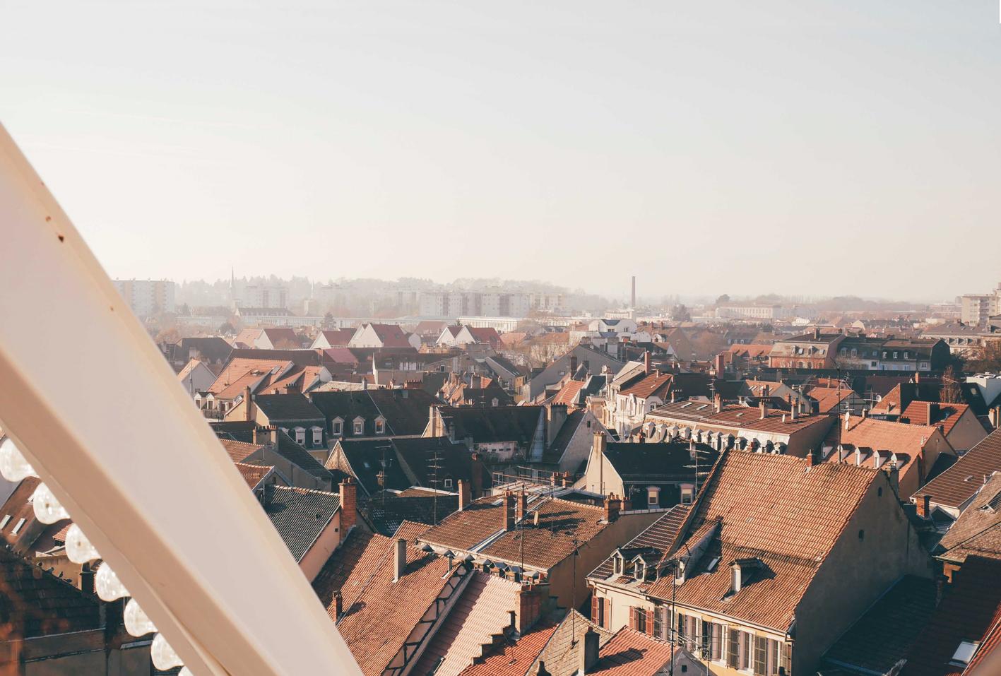 Du haut de la grande roue, Mulhouse