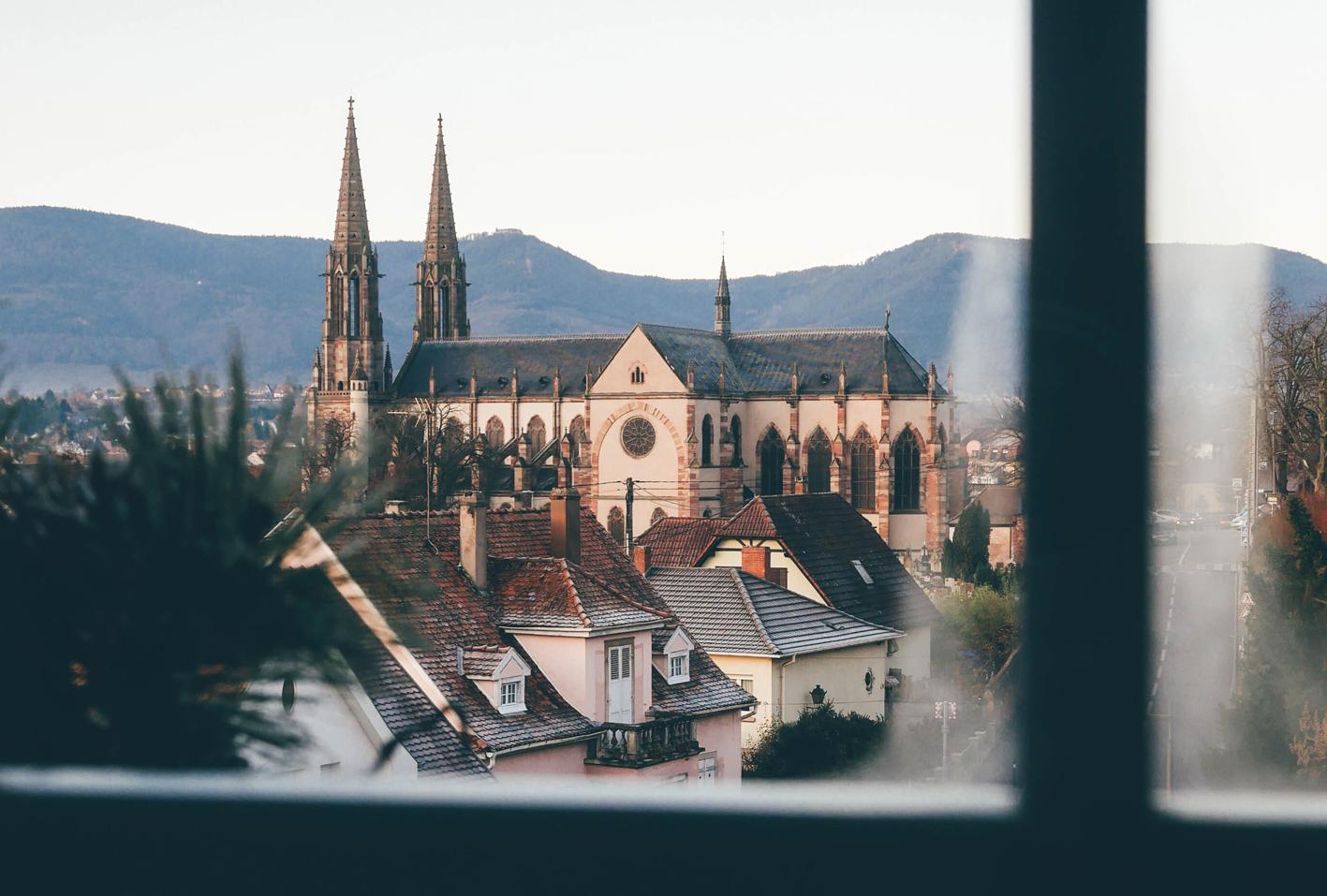 obernai, villa du coteau Alsace